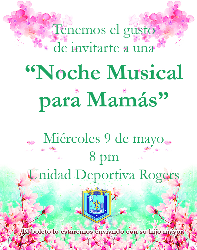 invitación noche musical
