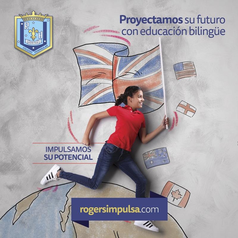 Proyectamos su futuro con educación bilingüe