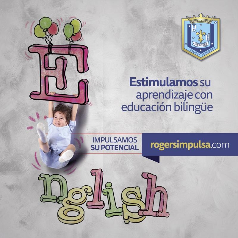 Estimulamos su aprendizaje con educación bilingüe